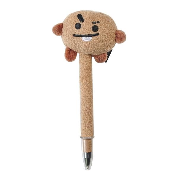 耀您館|日本限定ENSKY萬年筆鋼筆BT21正版吉祥物筆SHOOKY防彈少年團BTS閔玧其SUGA#459376