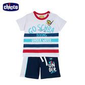 chicco-海洋假期-男童短袖套裝-潛水