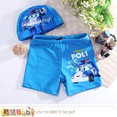 男童泳衣組 POLI波力授權正版 魔法Baby