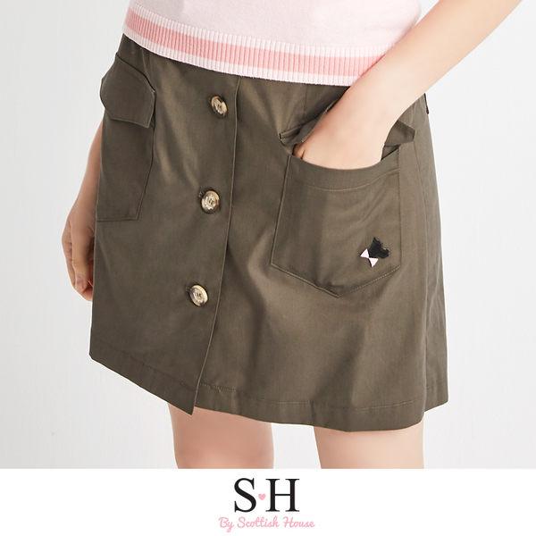 前排扣短裙褲 Scottish House【SA2254】