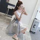 小禮服女2018夏季公主裙蓬蓬連身裙韓版短裙