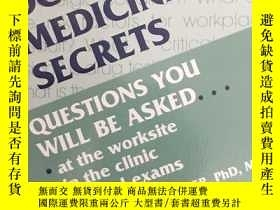 二手書博民逛書店Occupational罕見Medicine SecretsY1