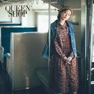 Queen Shop【01084613】中山領碎花雪紡長洋裝 兩色售*現+預*