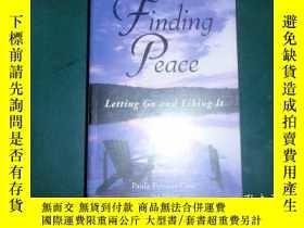 二手書博民逛書店英文原版:finding罕見peace... 060927Y99