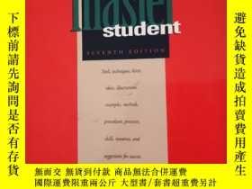 二手書博民逛書店Becoming罕見a master studentY398101 SEVENTH EDITION