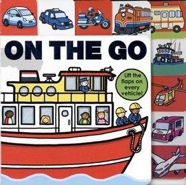 ON THE GO / 硬頁翻翻書 《幼兒交通工具書》