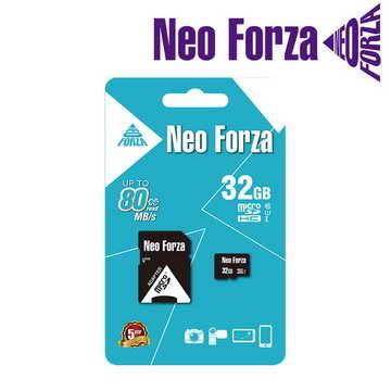 全新 NEO FORZA 32GB microSDHC class 10/UHS-1 5年保固