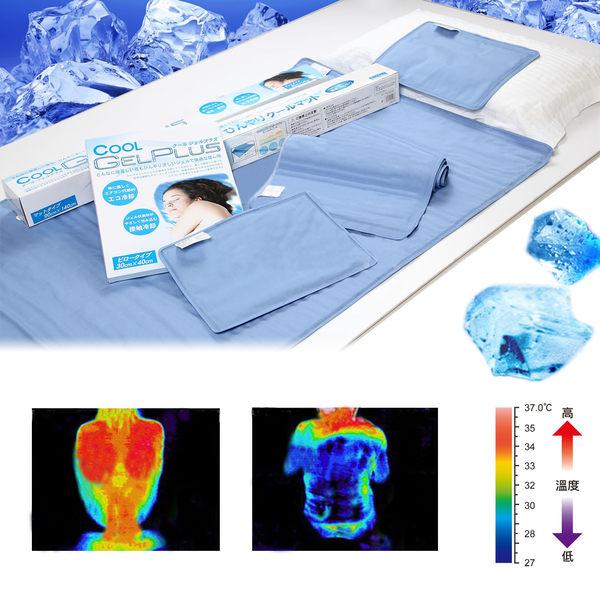 降溫涼感凝膠床墊(70*140加重)