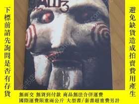 二手書博民逛書店電鋸驚魂3罕見電影場刊 Saw 3Y178456 溫子仁 出版2