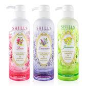 台灣 SHILLS 舒兒絲 維多利亞香氛水感極潤美白身體乳 500mL ◆86小舖 ◆