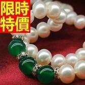 珍珠項鍊 單顆9-10mm-生日情人節禮物名媛氣質女性飾品53pe3【巴黎精品】