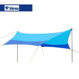 無極天幕沙灘帳篷4.4Mx4.4M配壓縮包袋及2.3米帳杆