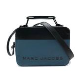 【台中米蘭站】全新品 MARC JACOBS 牛皮撞色相機斜背包(黑/綠)