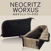 Neocritz多功能展開筆袋/藍【KOKUYO】