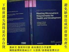 二手書博民逛書店Meeting罕見Micronutrient Requireme