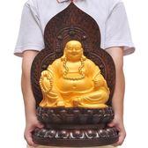 阿彌陀佛地藏王擺件居家供奉客廳玄關擺設【熊貓本】