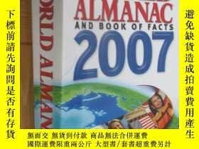 二手書博民逛書店The罕見World Almanac And Book of Facts, 2007Y5460 Not Ava