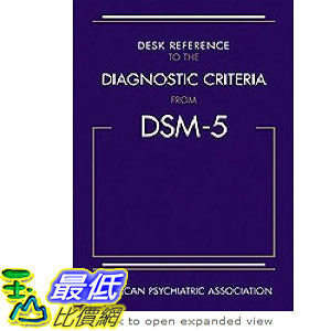 【103玉山網】 2014 美國銷書榜單 Desk Reference to the Diagnostic Criteria from DSM-5(TM)   $2194