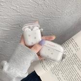 Airpods Pro 專用 1/2代 台灣發貨 [ 超好看的透明櫻桃小雛菊 ] 藍芽耳機保護套 蘋果無線耳機保護