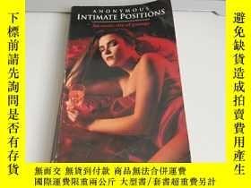 二手書博民逛書店ANONYMOUS罕見INTMATE POSITIONSY273906 看圖 看圖 出版1992