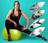 瑜伽球加厚初學者健身球兒童孕婦分娩助產平衡瑜珈球      蜜拉貝爾