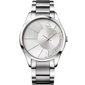 【台南 時代鐘錶 Calvin Klein】K0S21109 極簡風尚 側眼設計款 CK