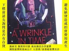 二手書博民逛書店A罕見Wrinkle in Time 英文原版 時間的皺紋Y83259 Madeleine L   Engl