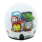 【東門城】EVO 智同 CA-309 復仇者聯盟Q版(白) 兒童半罩式安全帽