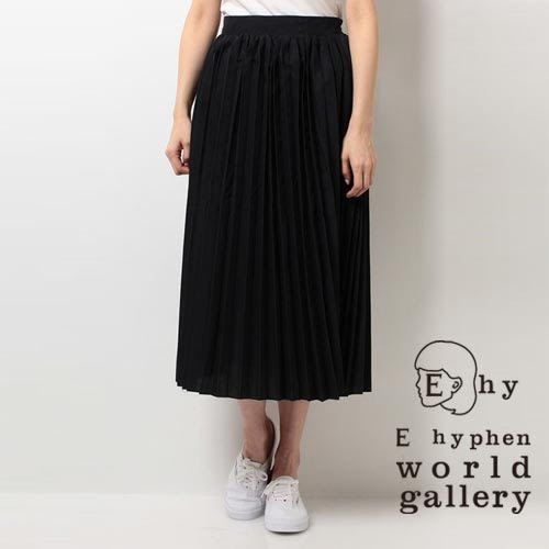 ❖ Hot item ❖ 素色百折吊帶長裙 - E hyphen world gallery