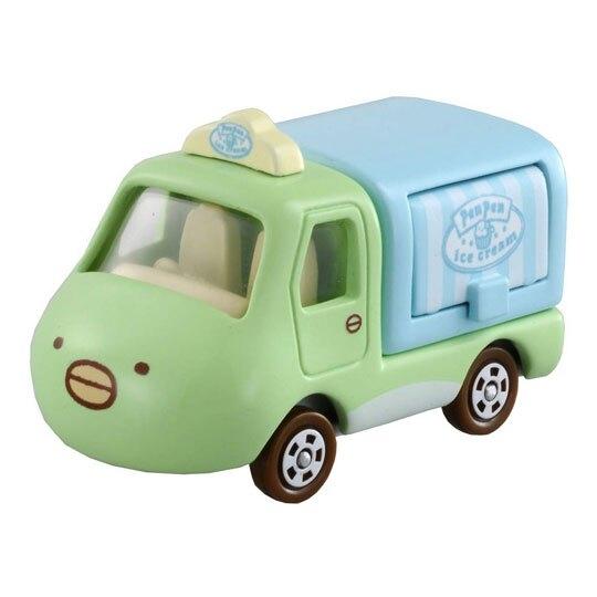 〔小禮堂〕角落生物 TOMICA小汽車造型冰淇淋餐車《149.綠藍》公仔.擺飾.模型 4904810-12539