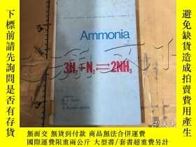 二手書博民逛書店Ammonia:罕見Part IVY11418 A.V. Sla