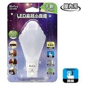 LED皇冠小夜燈(手動)