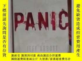 二手書博民逛書店英文原版罕見Panic by Jeff AbbottY14063