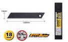 OLFA   LBBD-10  大型15截超銳黑刃美工刀片 (10片裝) / 盒