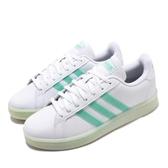 adidas 休閒鞋 Grand Court 白 綠 女鞋 運動鞋 【PUMP306】 FW5901