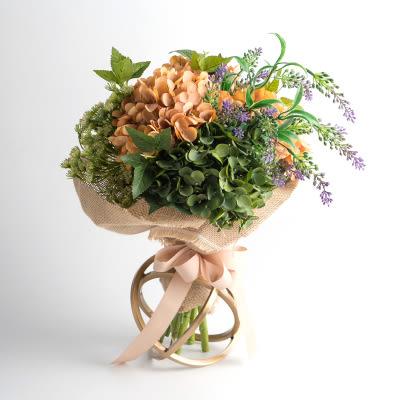 模擬花假花 套裝 花藝 客廳餐桌 裝飾花 花瓶捧花结婚花束 -bri01062
