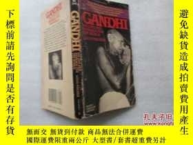 二手書博民逛書店甘地傳罕見Gandhi : His Life and Messa