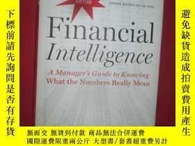 二手書博民逛書店Financial罕見Intelligence Revised