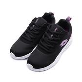 LOTTO DAY RIDE 氣墊跑鞋 黑紫 LT0AWR2110 女鞋