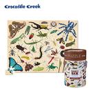 《美國Crocodile Creek》生物主題學習桶裝拼圖-昆蟲世界(100片)