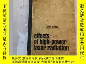 二手書博民逛書店effects罕見of high-power laser rad