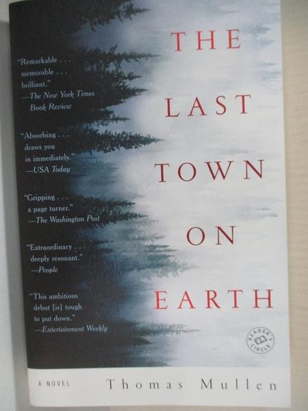 【書寶二手書T1/原文小說_IE1】The Last Town on Earth_Mullen, Thomas