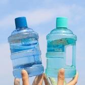 水桶杯網紅運動水杯一對創意潮流韓國便攜健身情侶款不正經的杯子