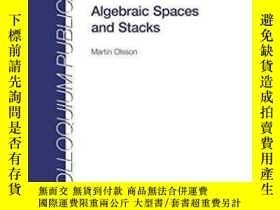 二手書博民逛書店Algebraic罕見Spaces And Stacks-代數空間與代數棧Y436638 Martin Ols
