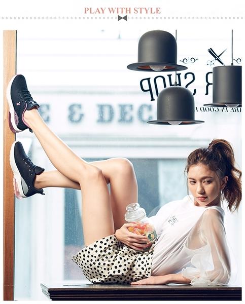 PLAYBOY 輕量氣墊休閒鞋-黑(Y6736)