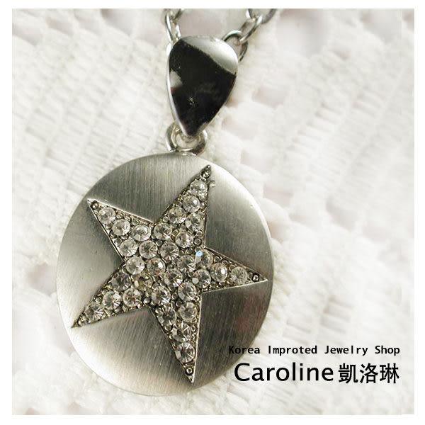 《Caroline》★韓國進口奧地利施華洛世奇水晶時尚項鍊19566