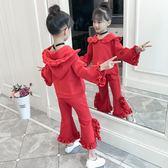 兒童套裝女童秋裝2018新款韓版潮衣小女孩洋氣秋季時尚兩件套童裝