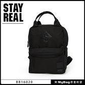 STAYREAL 後背包  定番大嘴後背包(小)  全黑  筆電後背包   BB16020-K2  MyBag得意時袋