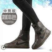 特賣防水鞋套雨鞋套男女鞋套防水雨天防雨水鞋套防滑加厚耐磨成人硅膠鞋套雨靴