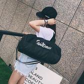 健身包男運動包訓練包行李袋短途旅行包手提瑜伽包女單肩包圓筒包【甲乙丙丁生活館】